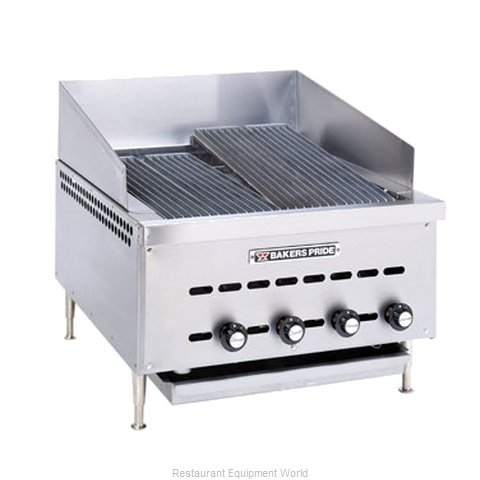 Bakers Pride XXE-12 Charbroiler Gas Counter Model
