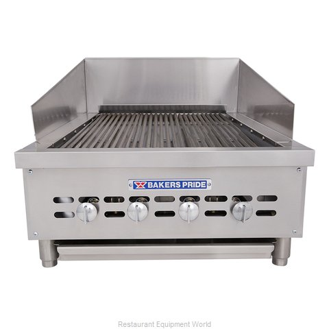 Bakers Pride XXE-4 Charbroiler, Gas, Countertop (Magnified)
