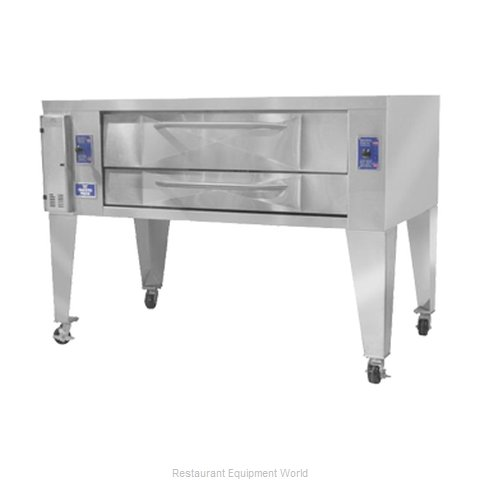 Bakers Pride Y-600 Pizza Oven, Deck-Type, Gas