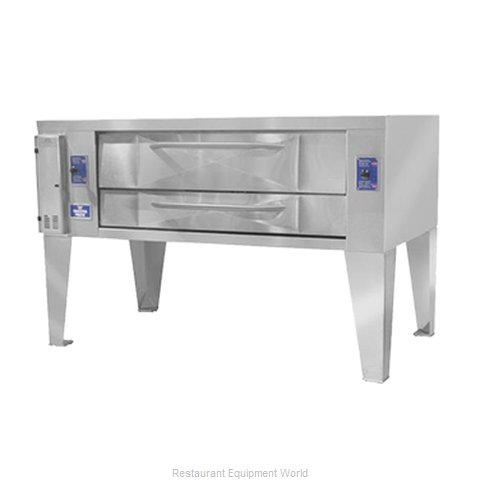 Bakers Pride Y-600BL Pizza Oven Deck-Type Gas