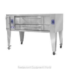 Bakers Pride Y-800 Pizza Oven, Deck-Type, Gas