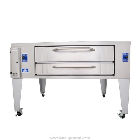 Bakers Pride Y-800BL Pizza Oven Deck-Type Gas
