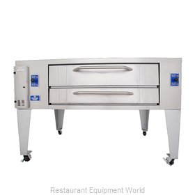 Bakers Pride Y-800BL Pizza Oven, Deck-Type, Gas