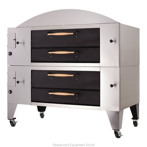 Bakers Pride Y-802BL-DSP Pizza Oven, Deck-Type, Gas