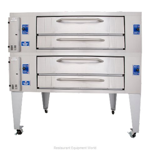 Bakers Pride Y-802BL Pizza Oven Deck-Type Gas