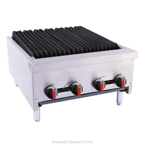 BakeMax BACGG24-4 Charbroiler, Gas, Countertop (Magnified)
