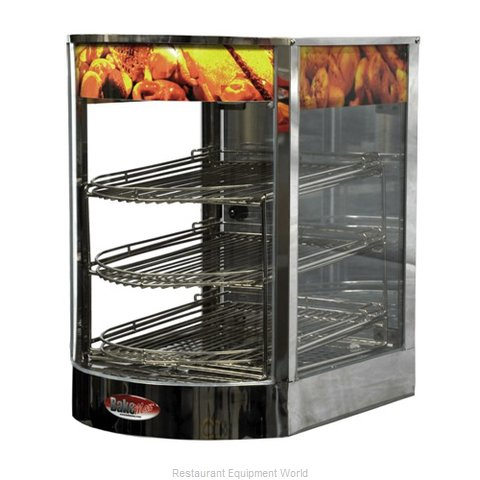 BakeMax BMCDF01 Display Case, Hot Food, Countertop (Magnified)