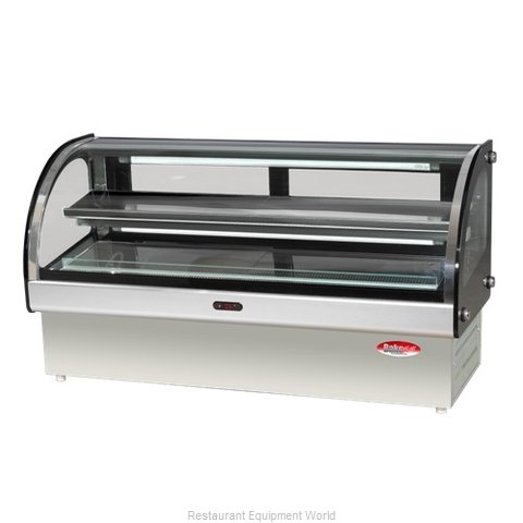 BakeMax BMCRD10 Display Case Refrigerated Deli Countertop (Magnified)