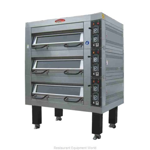 BakeMax BMDDD02 Oven, Deck-Type, Electric
