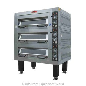 BakeMax BMDDD02 Oven, Deck-Type, Electric