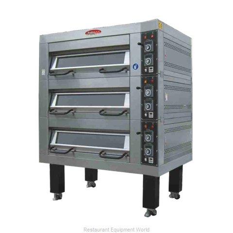 BakeMax BMDDD04 Oven, Deck-Type, Electric