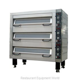 BakeMax BMFD001 Oven, Deck-Type, Electric