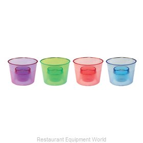 Bar Maid CR-7400AC Glassware, Plastic