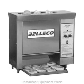 Belleco CBT-15 Toaster, Contact Grill, Conveyor Type