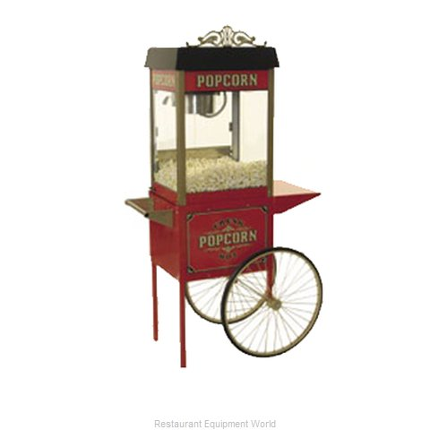 Benchmark USA 30010 Popcorn Popper Trolley (Magnified)
