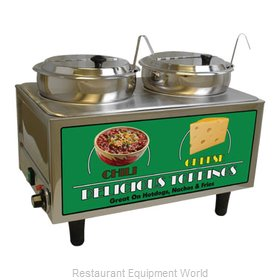 Benchmark USA 51072A Food Topping Warmer, Countertop
