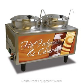 Benchmark USA 51072H Food Topping Warmer, Countertop
