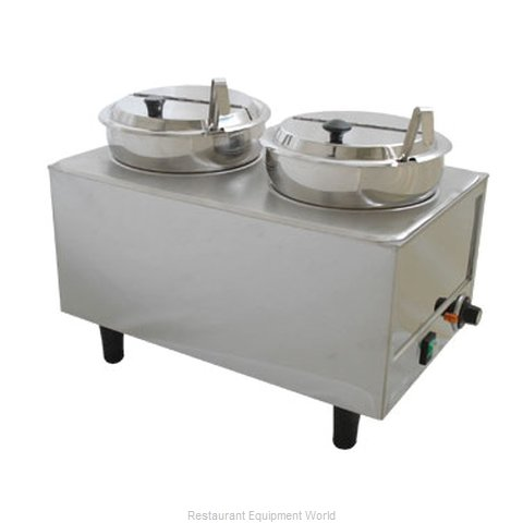 Benchmark USA 51072P Food Topping Warmer, Countertop
