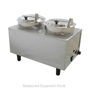 Benchmark USA 51072P Food Topping Warmer, Countertop