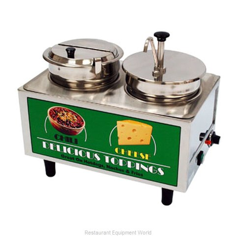 Benchmark USA 51073A Food Topping Warmer, Countertop