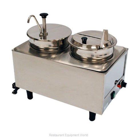 Benchmark USA 51073P Food Topping Warmer, Countertop