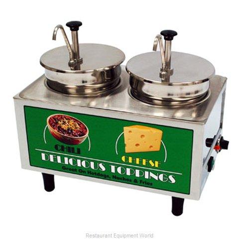 Benchmark USA 51074A Food Topping Warmer, Countertop