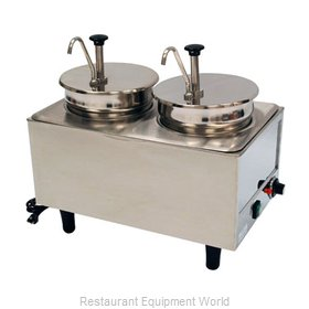 Benchmark USA 51074P Food Topping Warmer, Countertop