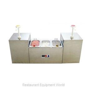 Benchmark USA 52001 Condiment Dispenser, Pump-Style