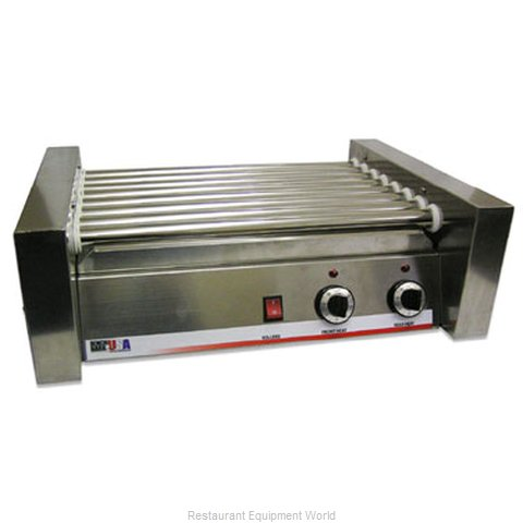 Benchmark USA 62020 Hot Dog Roller Grill