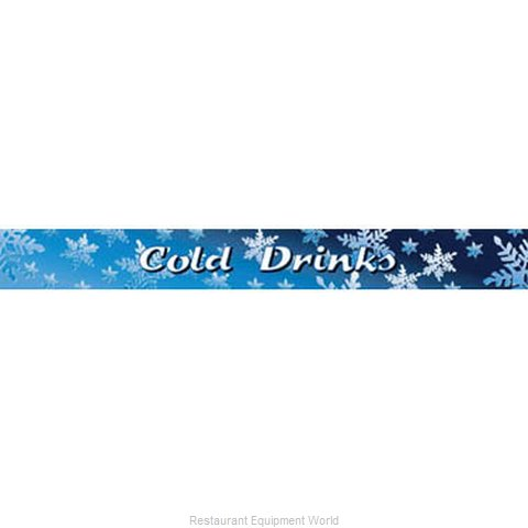 Beverage Air 409-419C-142 Cold Drinks Sign