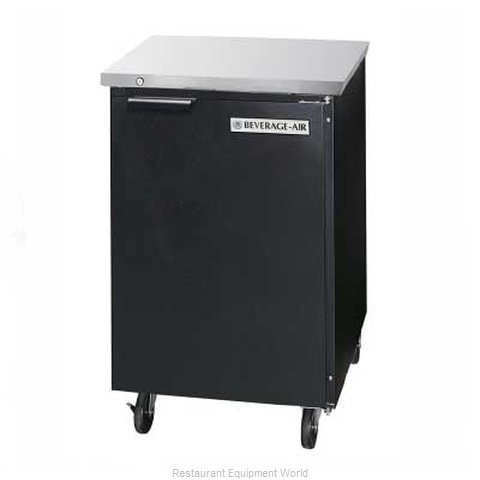 Beverage Air BB24-1-B Backbar Cabinet Refrigerated