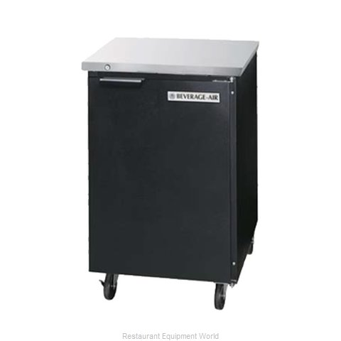 Beverage Air BB24F-1-B Backbar Cabinet Refrigerated (Magnified)