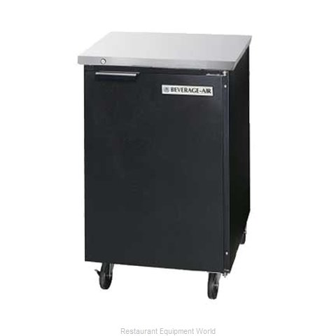 Beverage Air BB24G-1-B Backbar Cabinet Refrigerated