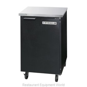 Beverage Air BB24HC-1-F-B Back Bar Cabinet, Refrigerated