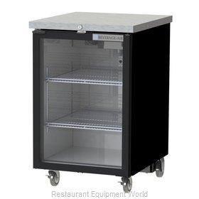 Beverage Air BB24HC-1-FG-B Back Bar Cabinet, Refrigerated