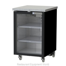 Beverage Air BB24HC-1-G-B Back Bar Cabinet, Refrigerated