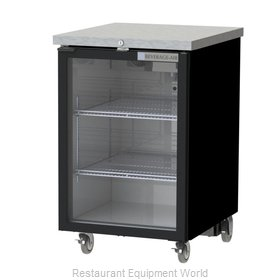 Beverage Air BB24HC-1-G-S Back Bar Cabinet, Refrigerated