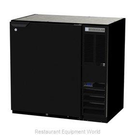 Beverage Air BB36HC-1-B Back Bar Cabinet, Refrigerated