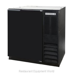 Beverage Air BB36HC-1-F-S Back Bar Cabinet, Refrigerated