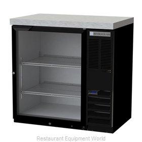 Beverage Air BB36HC-1-G-B-27 Back Bar Cabinet, Refrigerated