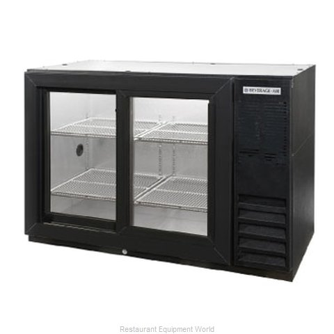 Beverage Air BB48GSY-1-B-PT Backbar Cabinet Refrigerated (Magnified)