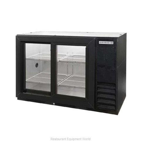 Beverage Air BB48GSY-1-B-WINE Backbar Cabinet Refrigerated (Magnified)