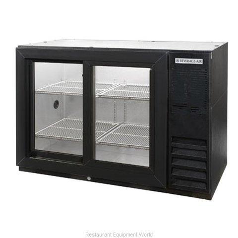 Beverage Air BB48GSY-1-B Backbar Cabinet Refrigerated