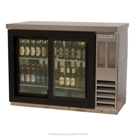 Beverage Air BB48GSY-1-S-27PT Backbar Cabinet Refrigerated