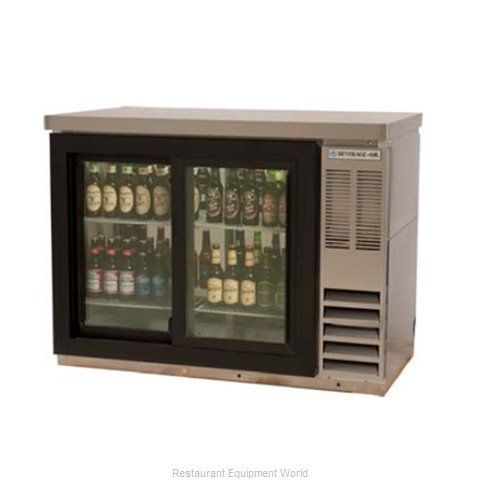 Beverage Air BB48GSY1SPTWINE Backbar Cabinet Refrigerated