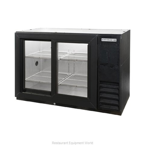 Beverage Air BB48GSYF-1-B-PT Backbar Cabinet Refrigerated