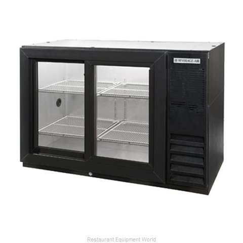 Beverage Air BB48GSYF-1-B Backbar Cabinet Refrigerated