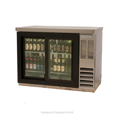 Beverage Air BB48GSYF-1-S27PT Backbar Cabinet Refrigerated