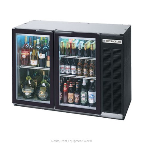 Beverage Air BB48GY-1-B-27-PT Backbar Cabinet Refrigerated