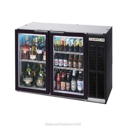 Beverage Air BB48GY-1-B-PT Backbar Cabinet Refrigerated